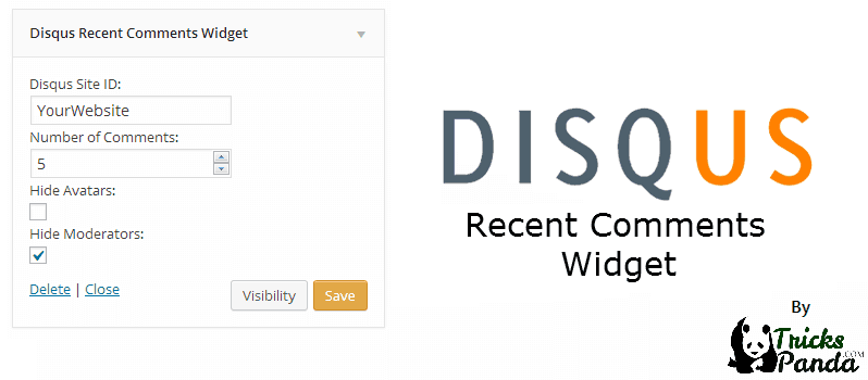 Disqus Recent Comments Widget For WordPress