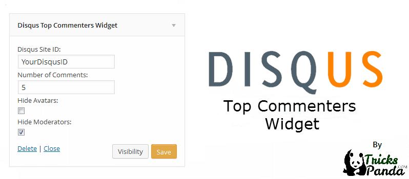 Disqus Top Commenters Widget For WordPress