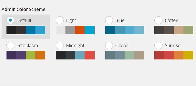 How To Set Default Admin Color Scheme In WordPress
