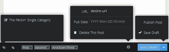 Gust Post Options