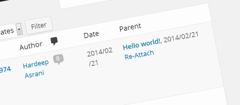 How To Re-Attach Media Files In WordPress