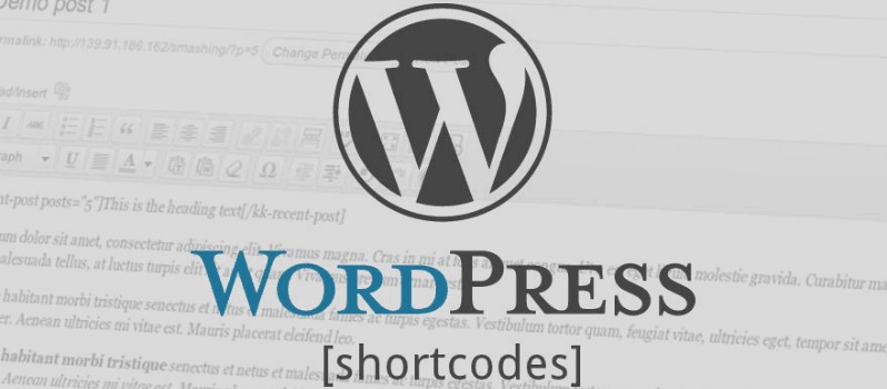How To Use Shortcodes In WordPress Widgets