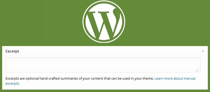 How To Add Excerpts To WordPress Pages