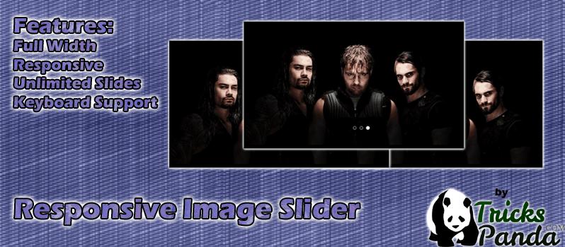 Responsive Image Slider Plugin For WordPress