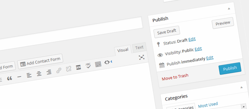 How To Remove Post Preview Button From WordPress Post Editor