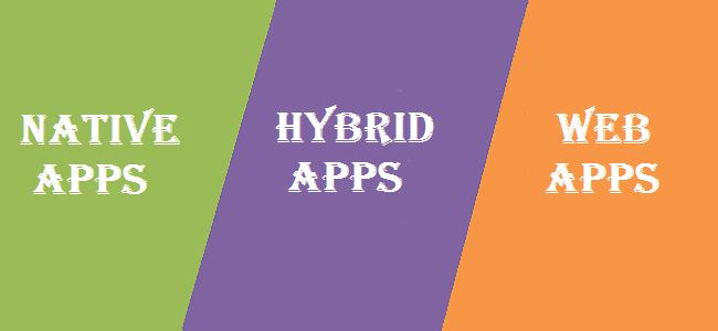 Native, Web, or Hybrid Apps: What Should You Choose?
